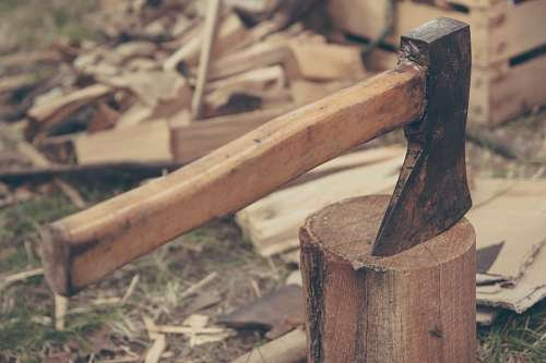 free images  hatchet