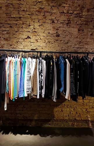 free images  Clothes in store