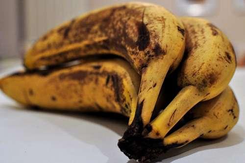 banana, fruit, fruits, bananas, ripe, yellow, matu
