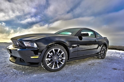 Auto Mustang Hdr effect for wallpaper