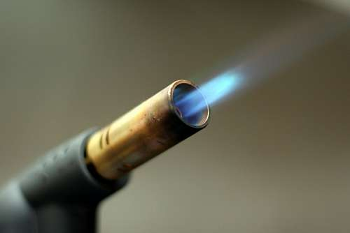 free images  welding torch