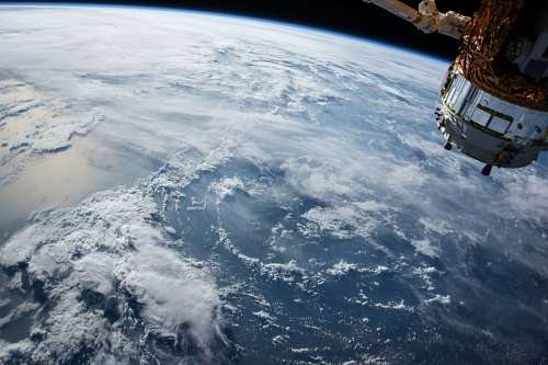 View of the Satellite Earth Nasa
