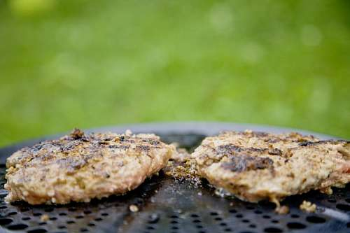 free images  Grill Hamburgers