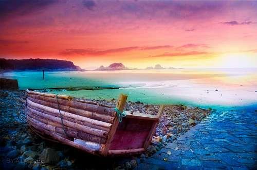 free images  China Coast Landscape