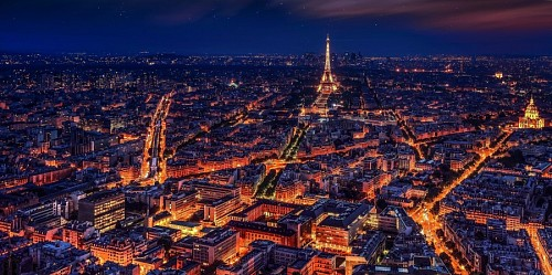 free images  The night of Paris
