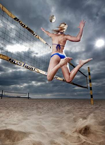 free images  Beach volleyball