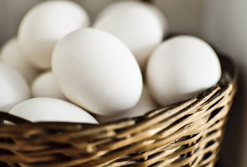 free images  Basket with Eggs