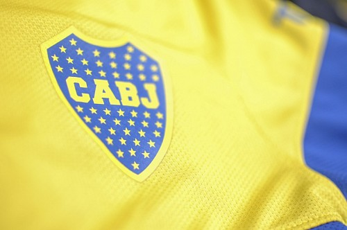 free images  Boca Junios Shirt Yellow
