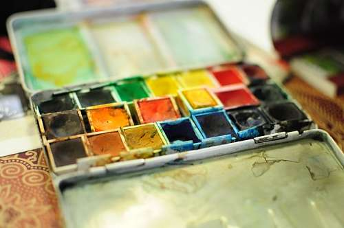 free images  peleta, color, colors, paint, enamel, colorful, pa