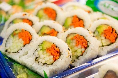 free images  Vegan Sushi