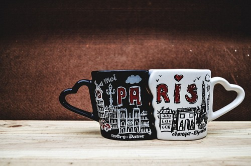 Paris Romantic Mugs