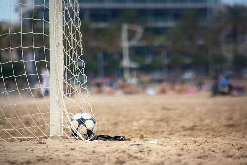 free images  sand, beach, sport, soccer ball, beach, sand, socc