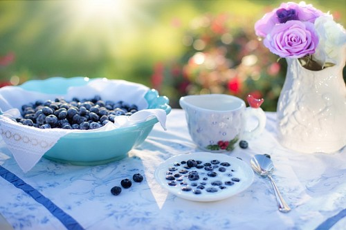 Blueberry Cream Breakfast