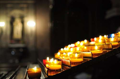 candle, candles, light, power, interior, prayer, p