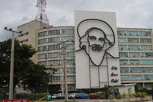 Ministry of Communications in the Plaza de la Revolucion
