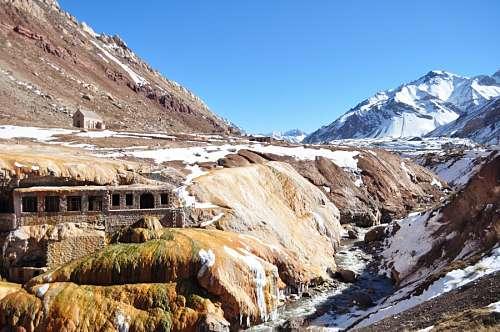 Inca bridge Mendoza Argentina