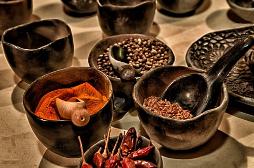 Typical spices of Mexico
