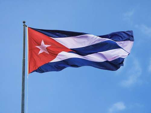 free images  Flag of Cuba