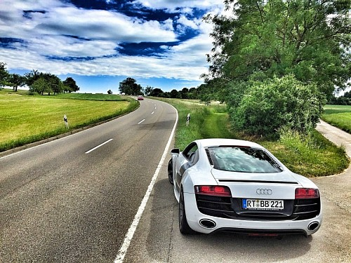 Audi R8 sports car for wallpaper