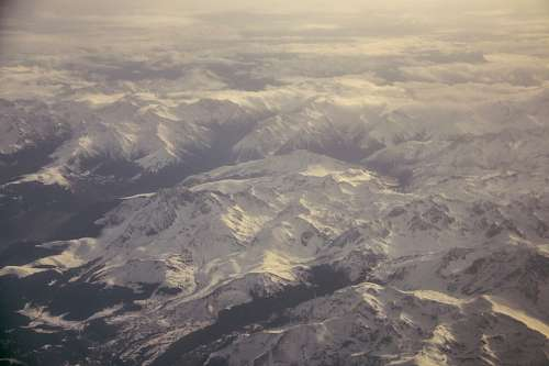 free images  mountain, mountains, aerial view, view from above,