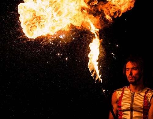 free images  Juggling with fire