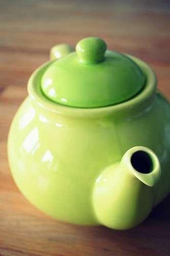 teapot, jug, green, mug, tea, ceramics, ceramic, c