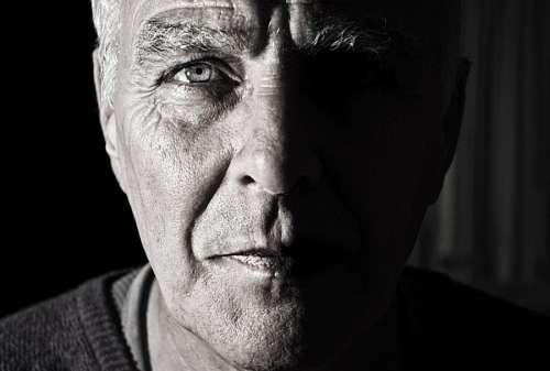 free images  Adult man staring at camera
