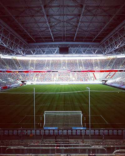 free images  Soccer stadium at night