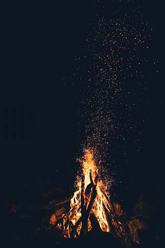 free images  bonfire