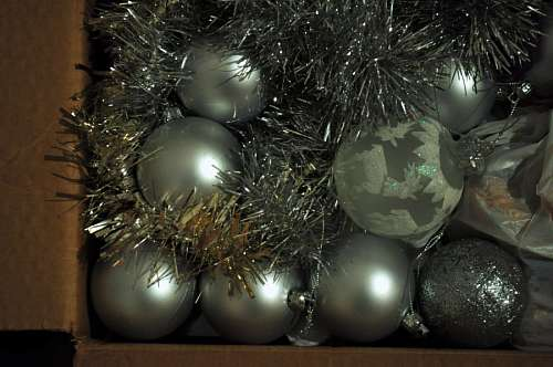 free images  ball, balls, bulb, Christmas decoration, silver, t