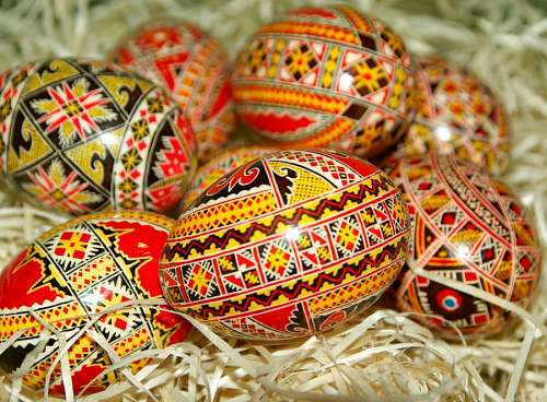 free images  Easter eggs