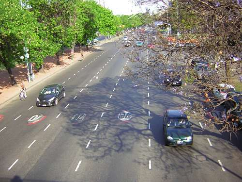 Street, Aerial View, Autos, Asphalt,