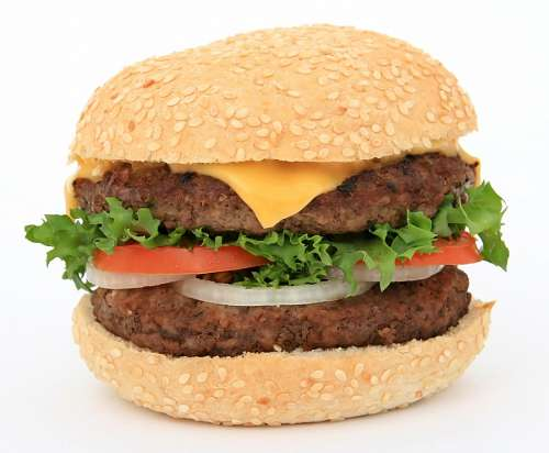 free images  hamburger