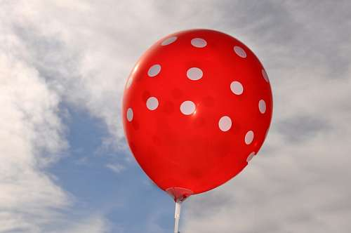 free images  Balloon, Sky, Decoration, Red, Party, Celebration,
