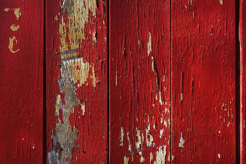 Red Texture Wood