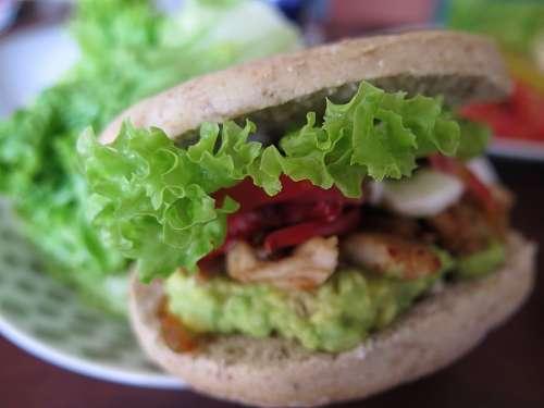 free images  Hamburger