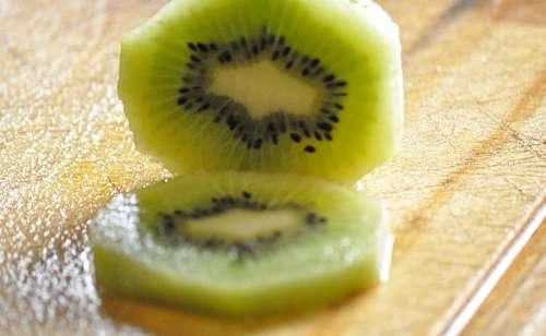 Fruit, Green, Kiwi, Seeds,