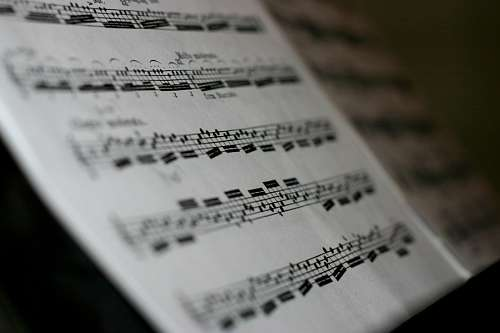 free images  Sheet Music