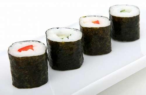 free images  maki sushi