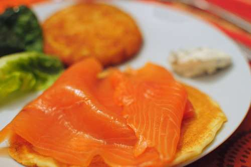 salmon, pink, sushi dish, interior, food, healthy,