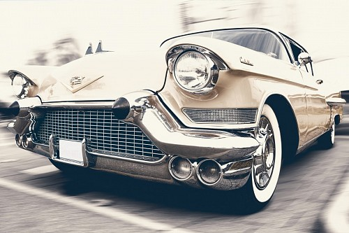 Auto cadillac champagne for wallpaper