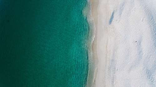 free images  Top View of a drone at the Beach