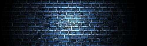 Briks wall