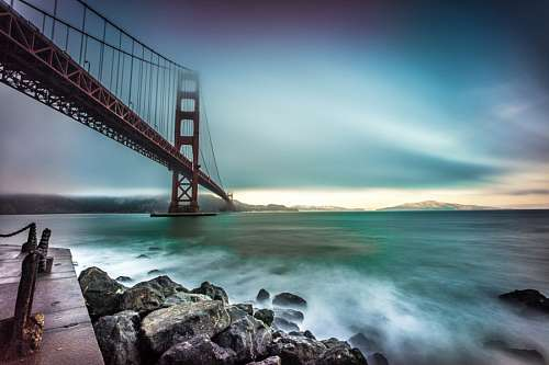 free images  Golden Gate Bridge, California