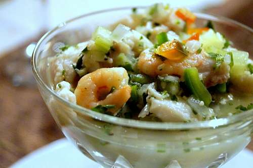 free images  Ceviche