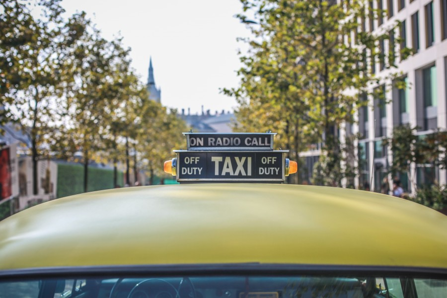 taxi, transportation, shelter, sign, city, travel,