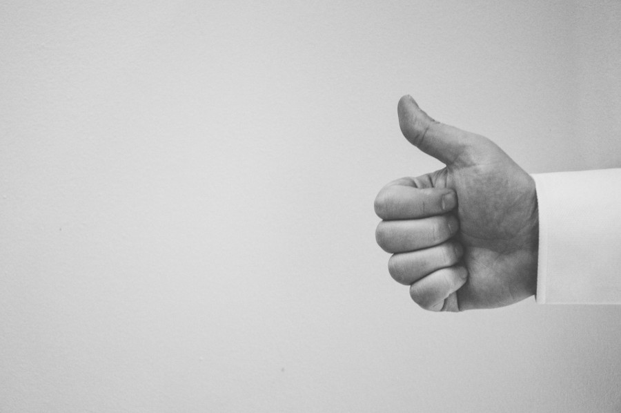 thumbs up, hand, people, black and white, thumb up, thumb, gesture, signal, ok,