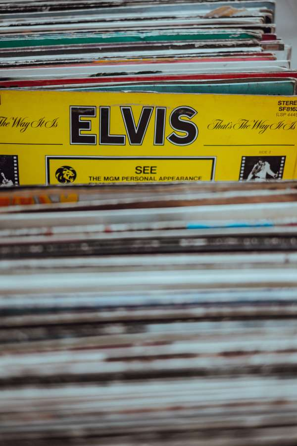 vinyl, disco, old, vintage, 80s, elvis, elvis presley, choose, collection, musical, 70s,