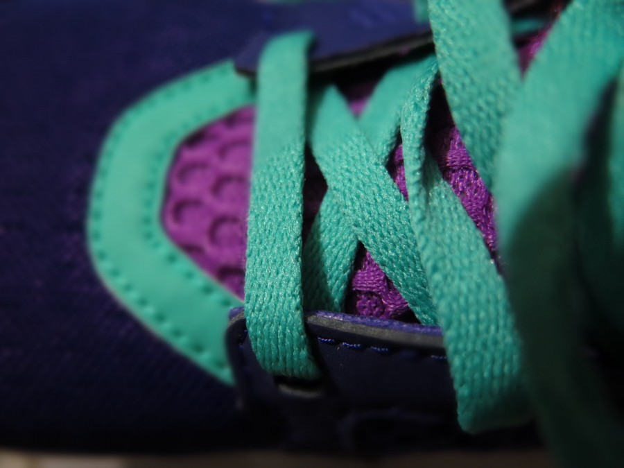 laces, shoe, sport, color, colorful, turquoise, detail, footwear, close-up,