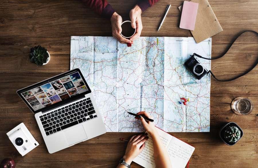 planning, map, travel, destination, point, internet, meeting, holidays, concept,
